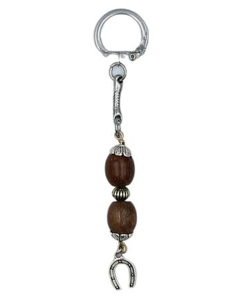 Μπρελόκ κλειδιών με πέταλο