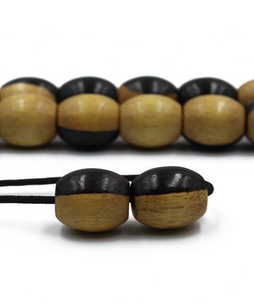 κομπολόι από ξύλο εβένου